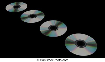 Spinning CDs