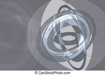 Spinning Circles in Grey