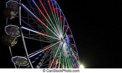 Spinning Ferris Wheel