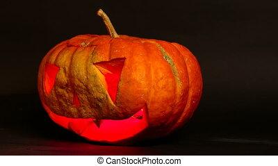 spinning pumpkin jack o lantern - jack o lantern spinning....