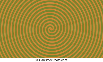 Spinning Spiral Abstract Motion Background
