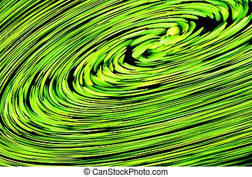 spinning spiral