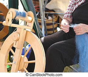 Spinning Wheel 5007 - spinning wheel