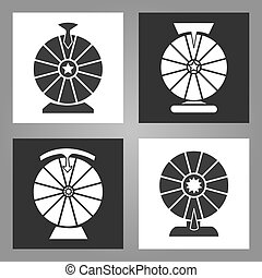 Spinning wheel icons
