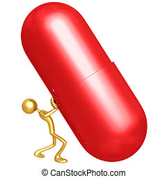 spinta, pillola, gigante