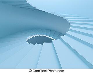 spiraal trappen