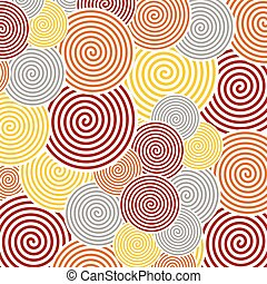 Spiral abstract background - It is an abstract colourful...