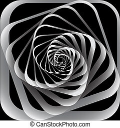 Spiral abstract background.