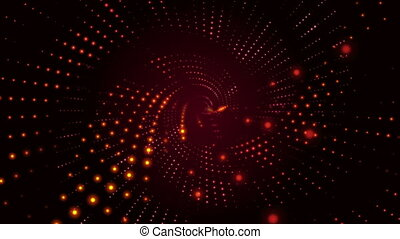 Spiral background red