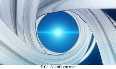 Spiral background. Seamless loop