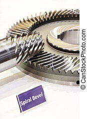 Spiral Bevel Gear Shaft 1 - Spiral Bevel Gear Shaft in the...