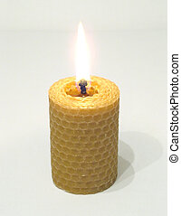 Spiral candle - A Natural Spiral Candle