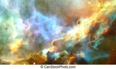 Spiral Galaxy Milky Way. Full HD Resolution: 1920x1080