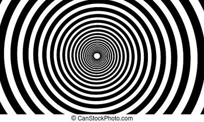 Spiral hypnotic animation.
