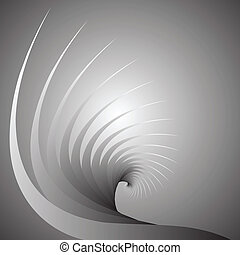 Spiral motion abstract background.