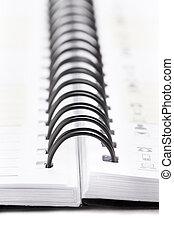 spiral notebook binder