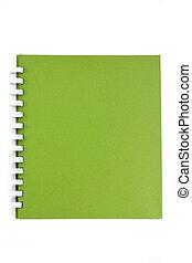 spiral, notebook.
