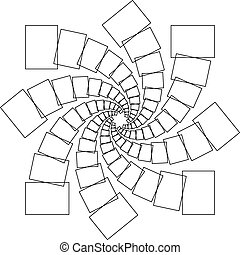 Spiral rectangles