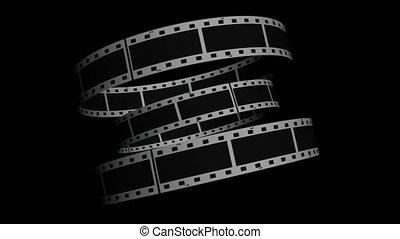 Spiral Rolling Film