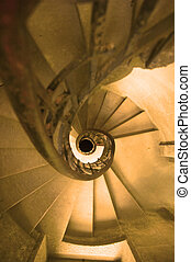 spiral stairway - spiral staircase