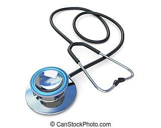 spiral stethoscope