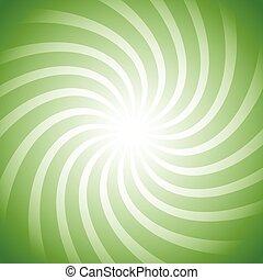 Spiral, vortex starburst, sunburst colorful background. Easy to edit, only with 1 color. (Monochrome)