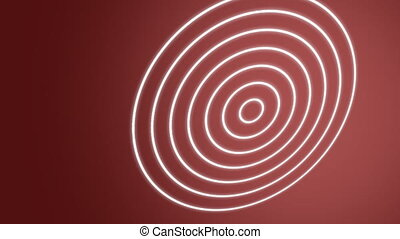 Spiral Waves Red
