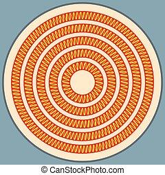 elektrische heizung abbildung spirale geheizt spule stock illustration suchen sie. Black Bedroom Furniture Sets. Home Design Ideas
