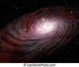 spirale, galaxie