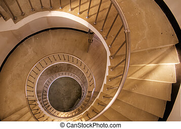 spiraling , σκάλεs