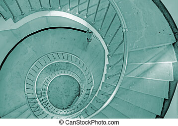 spiraling, scale