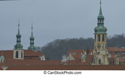 Spires and Roofs in Prague - Spires adn roofs in grey autmun...
