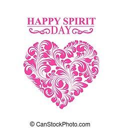 Spirit day heart.