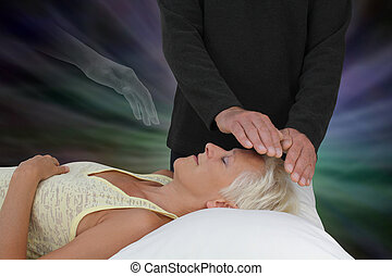 Spirit Guide Assisting Healing Session