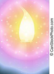 Spirit Healing - Illustration of spiritual energy