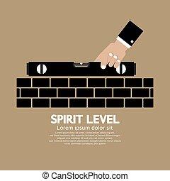 Spirit Level Engineering Measuring.