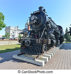 Spirit of Sir John Locomotive, Kingston, ON