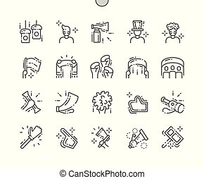 Spirit Well-crafted Pixel Perfect Vector Thin Line Icons 30...