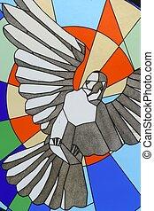 spirito, santo, uccello