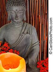 Spiritual altar - Buddha's spiritual altar