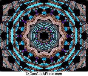 Spiritual Core - Mixed media-digital art and art work all...
