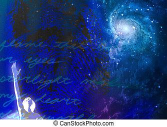 Spiritual Passion Abstract