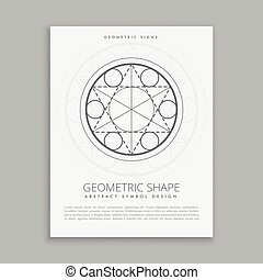 spiritual sacred geometric poster
