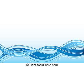 spiritual wave blue