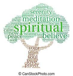 Spiritual Word Cloud