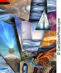 spirituale, frammenti