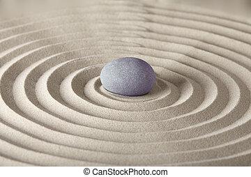 spirituale, giardino zen