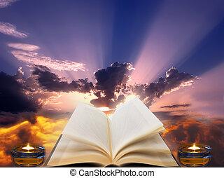 Spirituality - A conceptual image that represents...