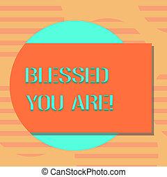 spirituel, concept, couleur, texte, photo., béni, forme, avoir, vide, dehors, gratitude, business, écriture, cercle, plus grand, puissance, venir, ombre, croire, vous, foi, mot, are., rectangulaire