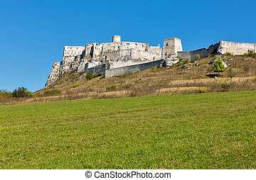 Spis Castle in Slovakia. Spissky hrad, National Cultural...